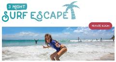 "3 Night Private (1 person) Surf and Stay ""The Surf Escape Package"""