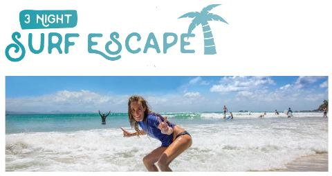 """3 Night Surf and Stay """"The Surf Escape Package"""""""