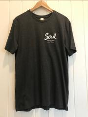 Soul Surf 'Byron Bay' T-Shirt CHARCOAL (International Post only)