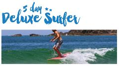 "5 Night's Surf and Stay ""The Deluxe Surfer package"" Off peak special"
