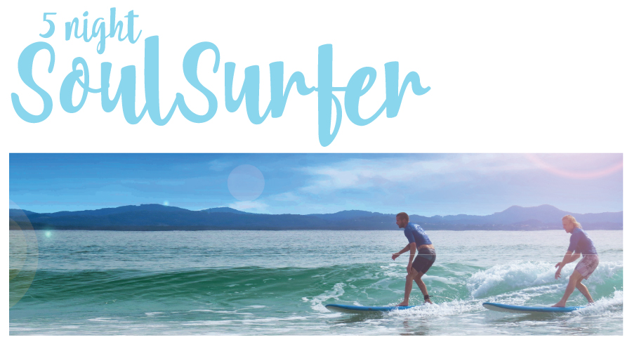 "5 Night's Surf and Stay ""The Soul Surfer Package"""