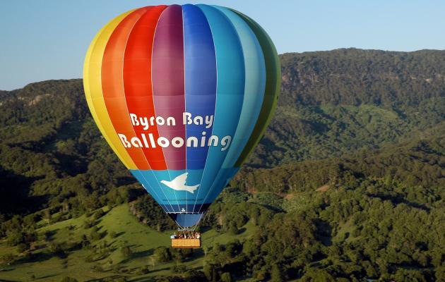 Hot Air Balloon Sunrise Flight