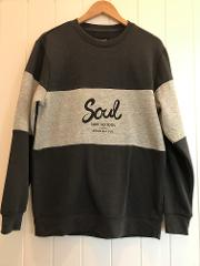 "Soul Surf ""Cosy Corner""  Sweater GREY  (International Post only)"