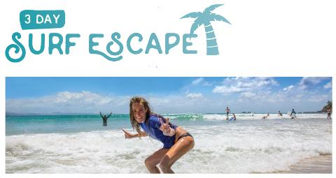 """3 Night Surf and Stay """"The Surf Escape Package"""" Off peak special"""