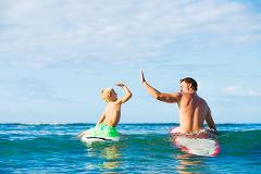 Private Family Surf Package