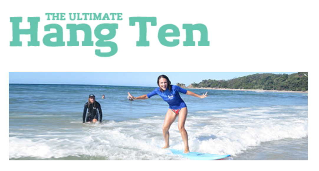 "10 Night ""The Ultimate Hang Ten"" Off Peak Special"