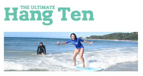 The Ultimate Hang Ten