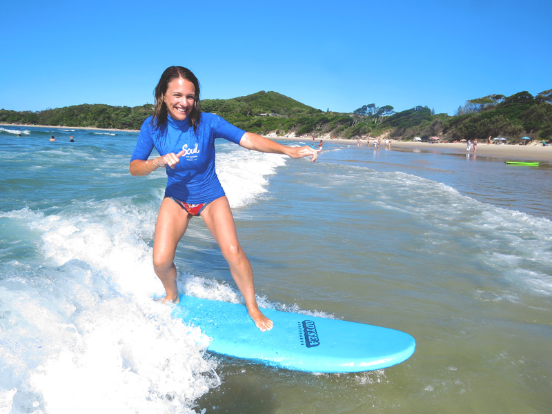 Byron Bay University Surf and Chill