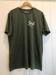 Soul Surf 'Byron Bay' T-Shirt OLIVE (International Post only)