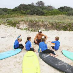 "2 x 3 hour Kids Surf Lessons – ""The Party Wave Combo"""