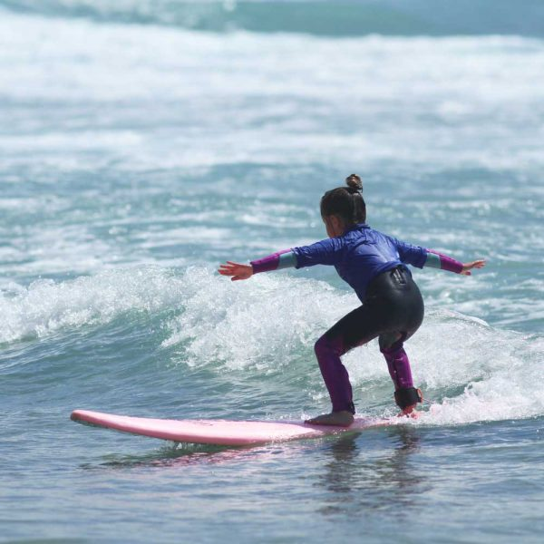 "5 x 3 hour kids surf lessons – ""The Mini  Semi Pro Package"""