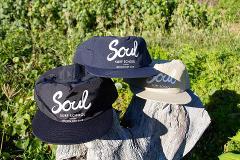 Soul Trucker Cap - Natural, Navy & Black  (Australia Post only)