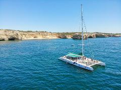 Catamaran Sailing Cruise to Benagil and Carvoeiro