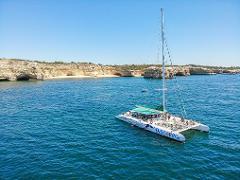 Catamaran Sailing Cruise to Benagil and Carvoeiro