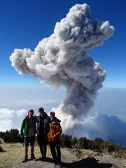Volcán Santa María Day Hike