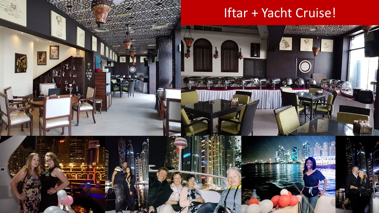 Iftar Dinner + Luxury Yacht Sight Seeing Cruise