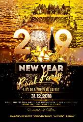 New Years Eve Yacht Party!