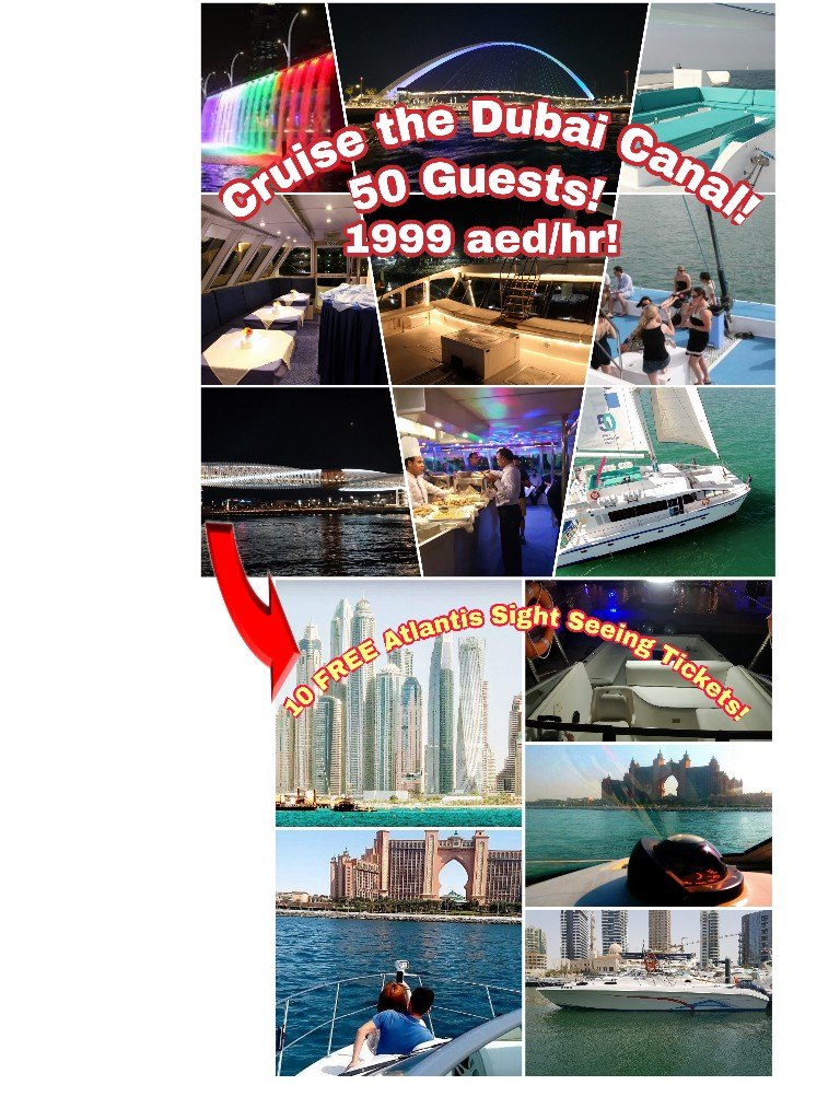 Special Offer! Cataraman Yacht 50 Guests! Plus 10 FREE Sight Seeing Tickets!
