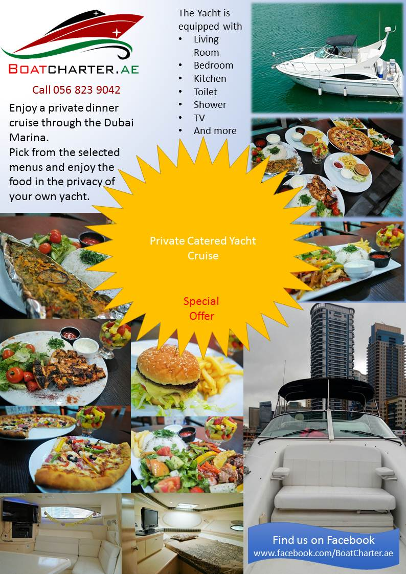 Private Catered Yacht Cruise