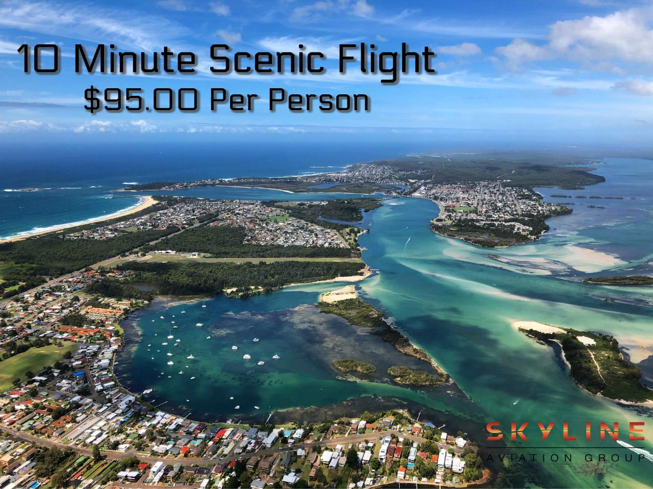 10 Minute Newcastle Helicopter Flight