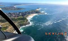 1 Hour Nelson Bay or Central Coast Helicopter Flight