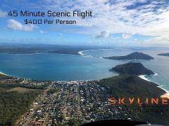 45 Minute Nelson Bay or Central Coast Helicopter Flight