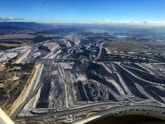 30 Minute Mountain Range & Coal Mine Scenic Flight