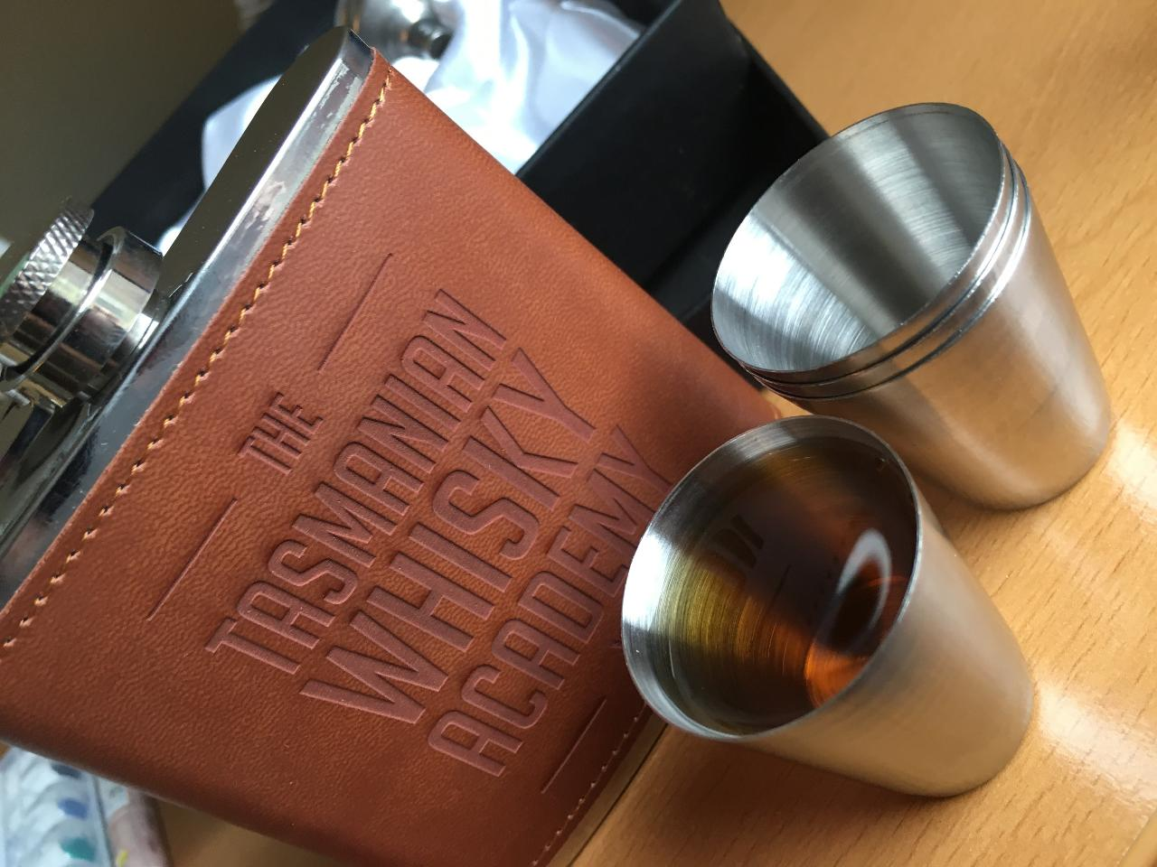 Tasmanian Whisky Flask