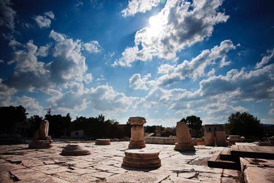 Ancient Eleusis, Aegosthena and Porto Germeno