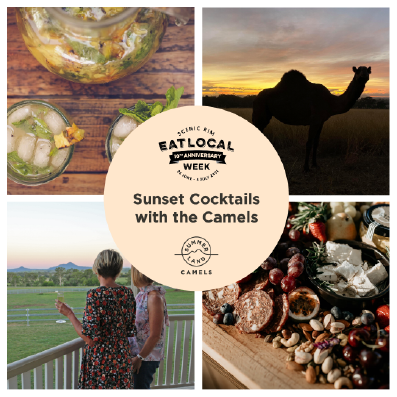 Eat Local Week - Sunset Cocktails with the Camels