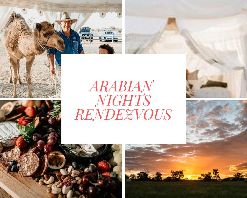 Arabian Nights Rendezvous - An Exclusive Valentine's Experience