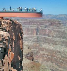 Grand Canyon West Tour, with Skywalk Experience