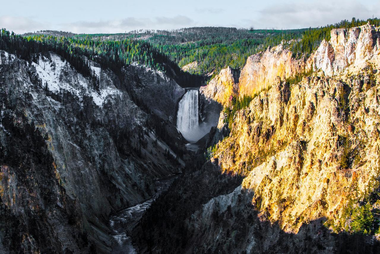 Majestic Yellowstone in Fall