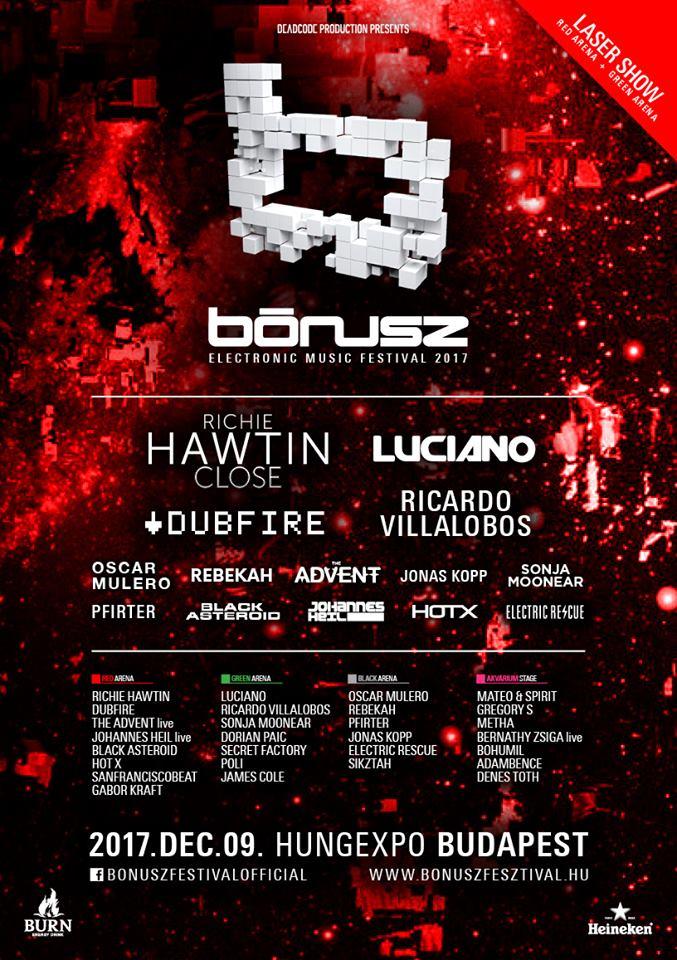 Bónusz Festival 9.12.2017