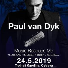 Partybus na Paul van Dyk 24.5.2019