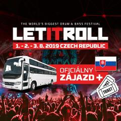 Partybus na Let It Roll 2019