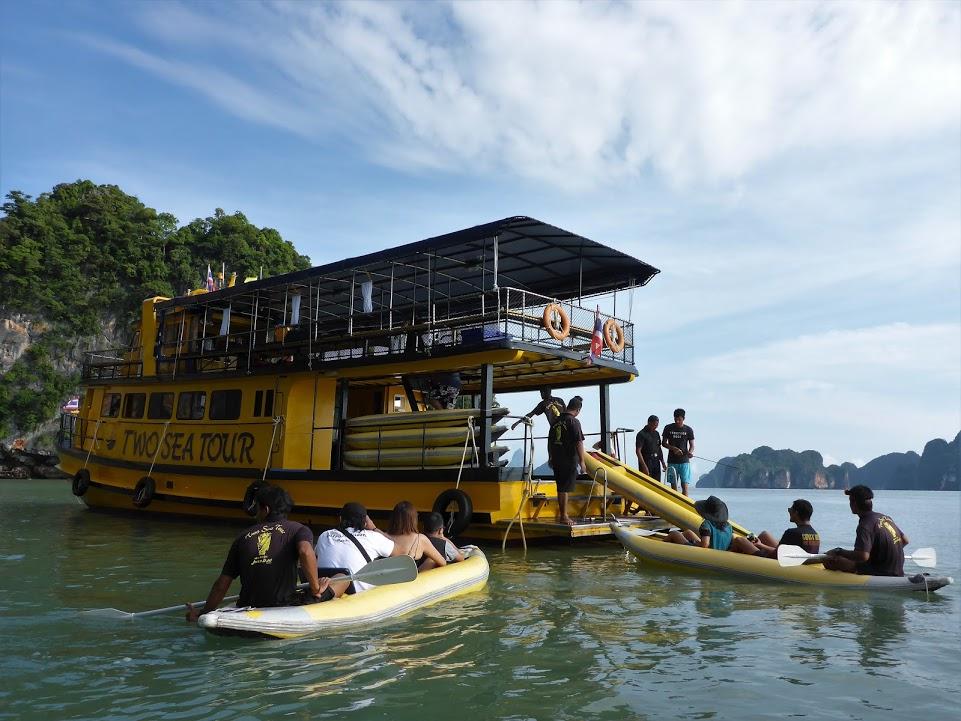 Eco Nature Kayaking in Phang Nga bay (include James Bond island stop) NOT a self-paddle tour