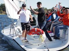Sailing with on board Food & Beverage