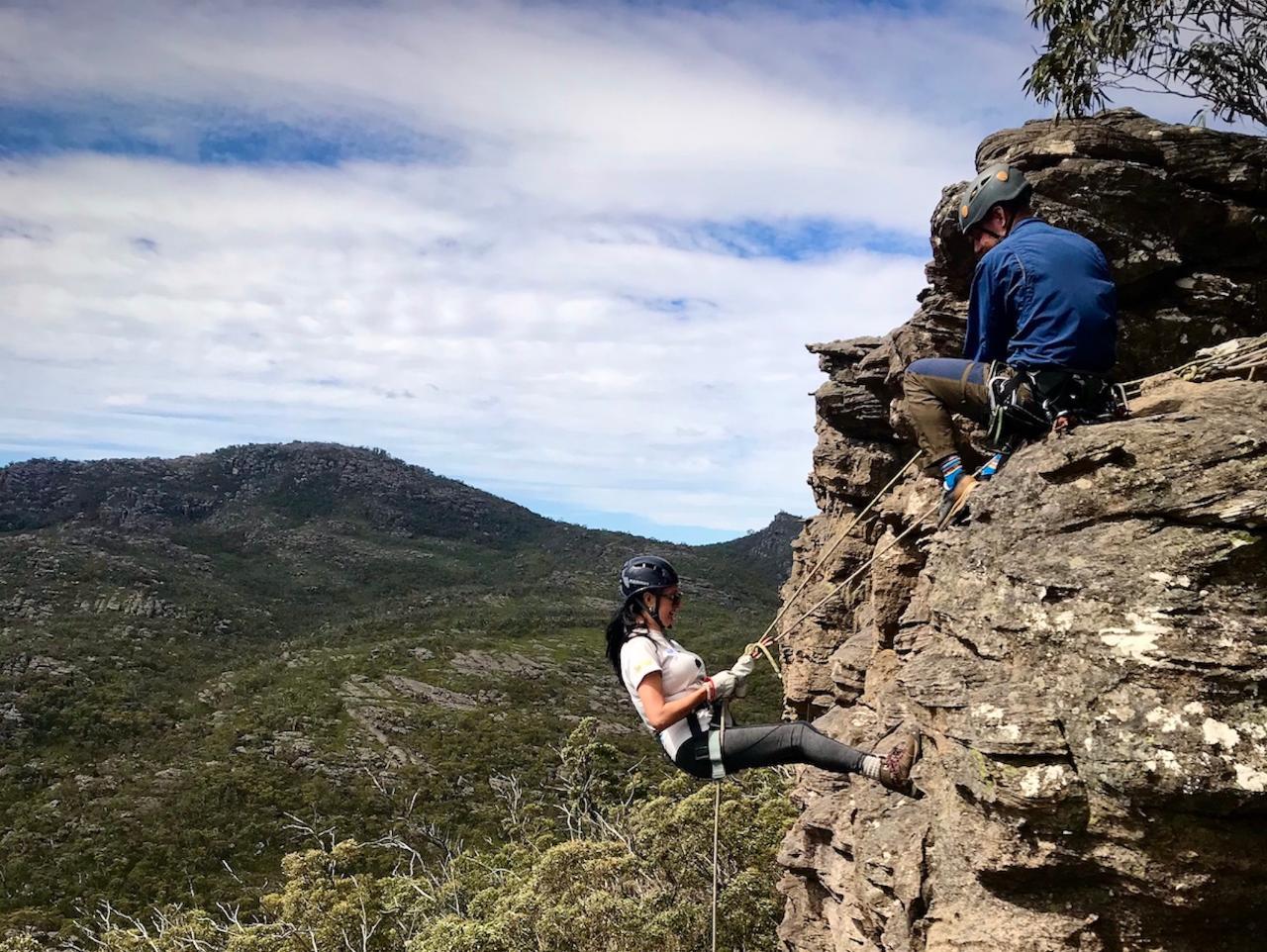 Rock Adventure - Beginner climb and abseil
