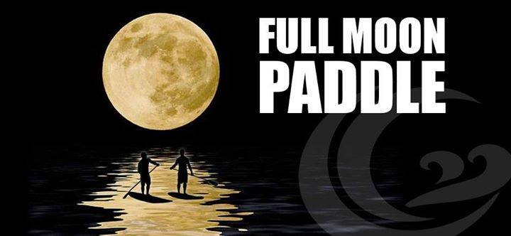 Full Moon Paddle Event