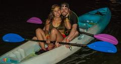 Saturday Neon Concert Paddle 2 Person Kayak