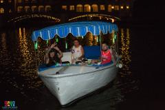 Neon Paddle Boat Rental (Holds 8 People)