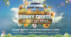 Easter Bunny Yacht Cruise at Lake Las Vegas