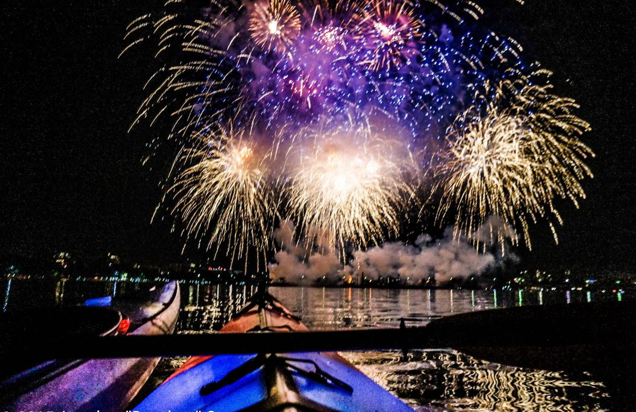 September 2nd Firework event-  Kayak