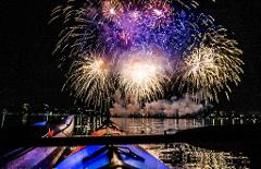 July 7th Firework event-  Kayak