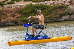Neon Paddle Water Bicycle