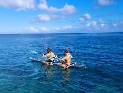 1 Hour Glass Kayak Rental for 2 people