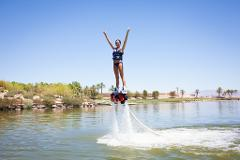 7 Person 15 Minute Flyboard Experience