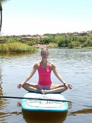 1 Hour Paddleboard Yoga Class
