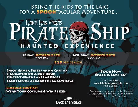 Lake Las Vegas Pirate Ship Haunted Experience